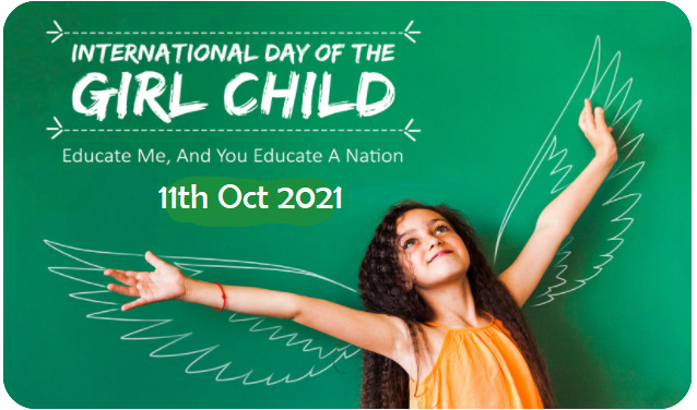 Let's Celebrate Each Girl Child, Today and Every Day !